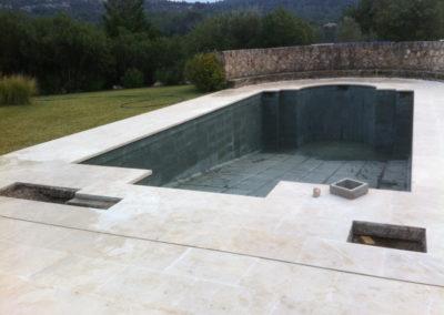 Fugas de agua en piscinas